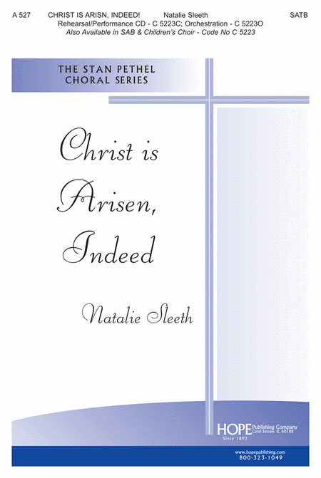 Christ Is Arisen, Indeed!