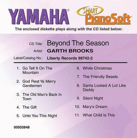 Garth Brooks - Beyond the Season - Piano Software