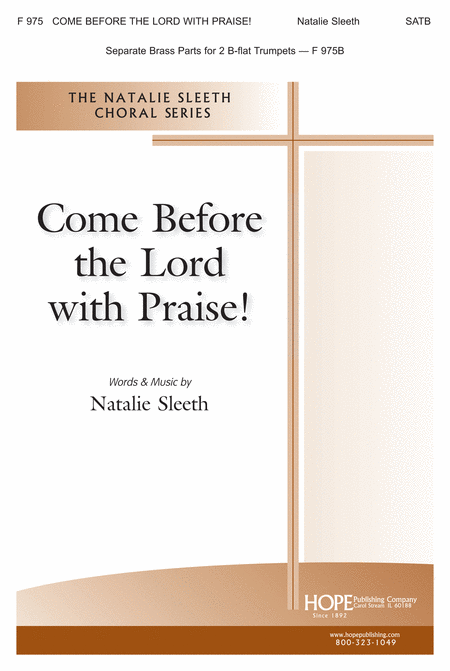 Come Before The Lord With Praise