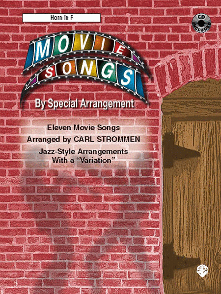 Movie Songs by Special Arrangement (Jazz-Style Arrangements with a