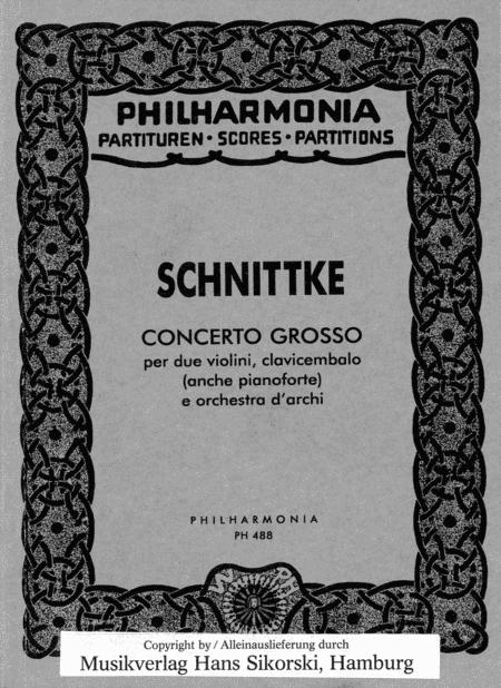 Alfred Schnittke - Concerto Grosso