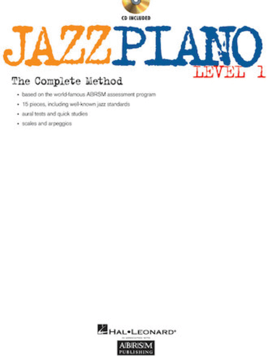 Jazz Piano - Level 1