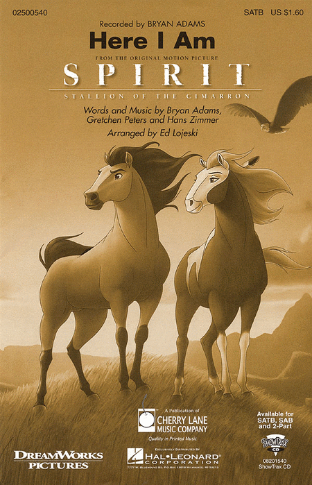 Here I Am (from Spirit: Stallion of the Cimarron)