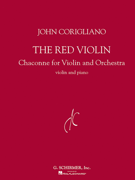 The Red Violin - Chaconne For Violin And Piano