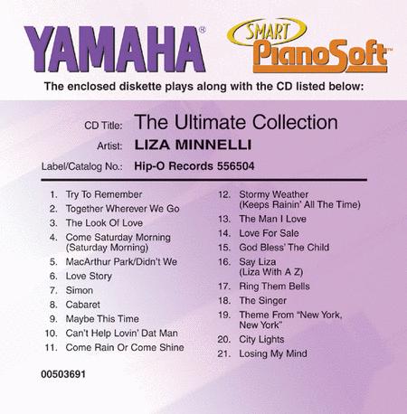 Liza Minnelli - The Ultimate Collection - Piano Software