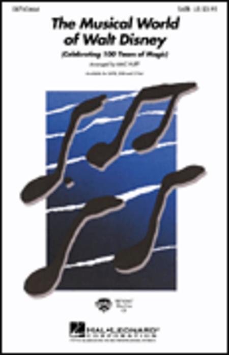 The Musical World of Walt Disney - ShowTrax CD