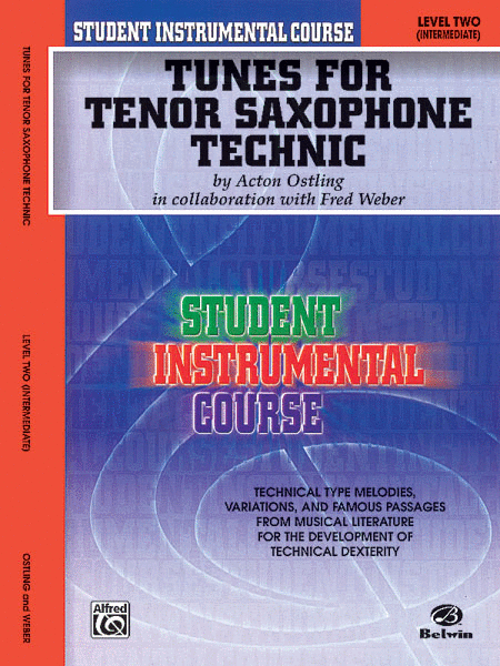Student Instrumental Course Tunes for Tenor Saxophone Technic