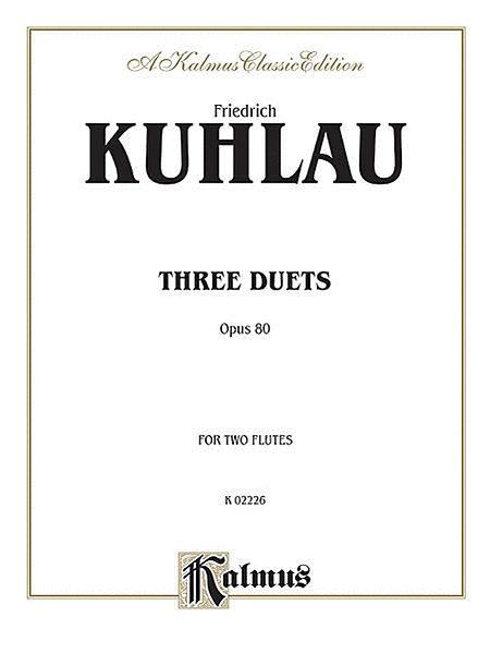 Three Duets Op 80 - 2 Flutes