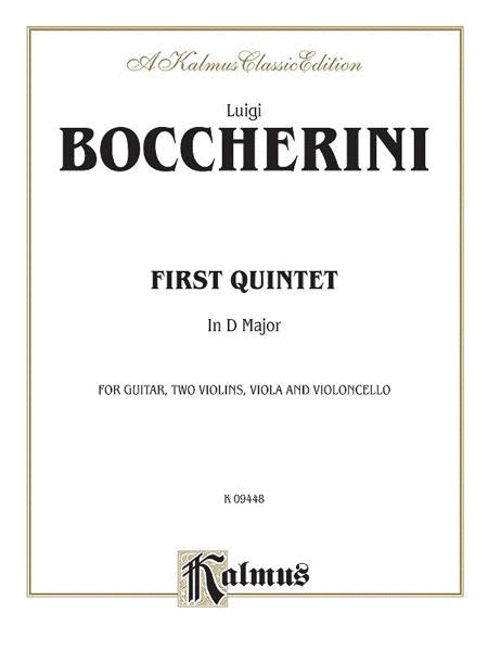 1st String Quintet In D Maj