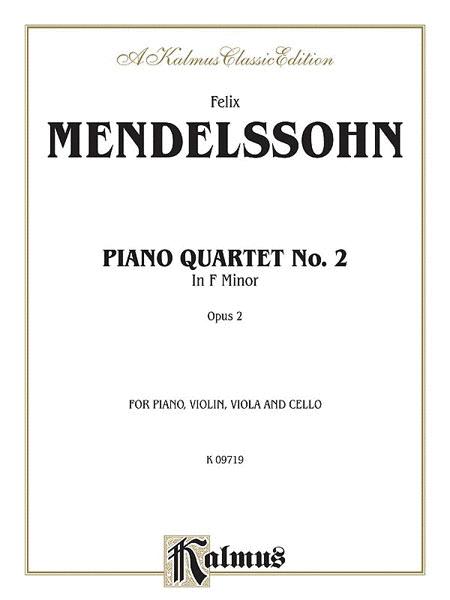 Piano Quartets Op. 2