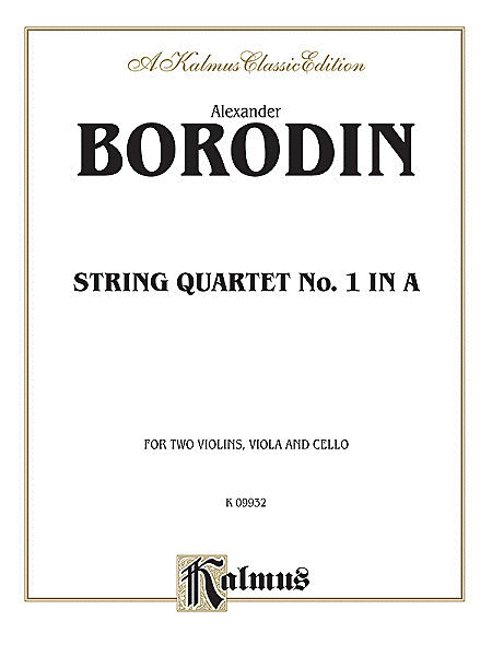 String Quartet No.1 In A
