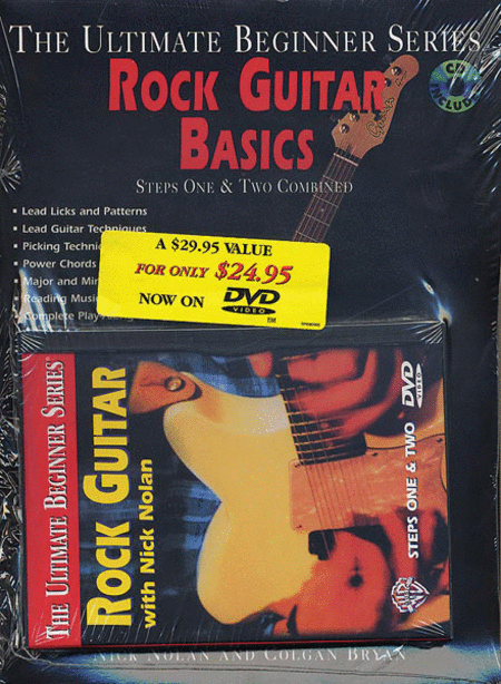 Ultimate Beginner Series - Rock Guitar Mega Pack - DVD