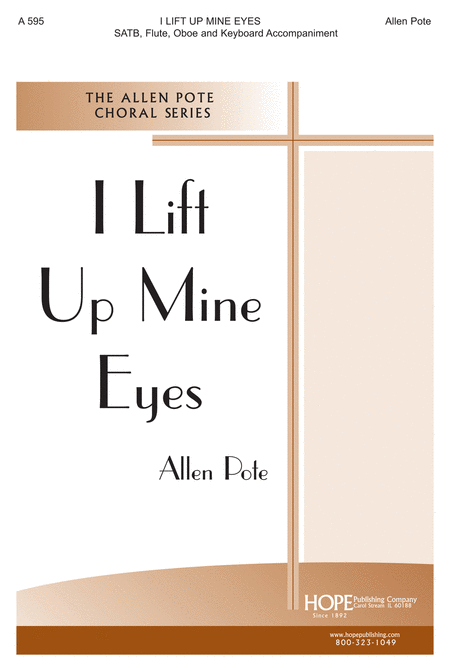 I Lift Up Mine Eyes