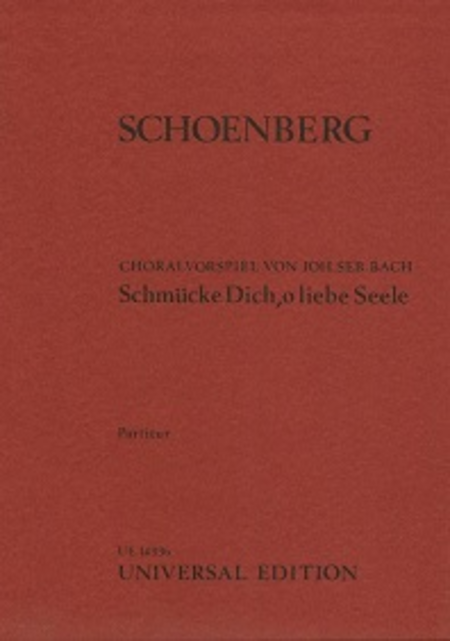 Bach-Schoenberg Chorale Preludes