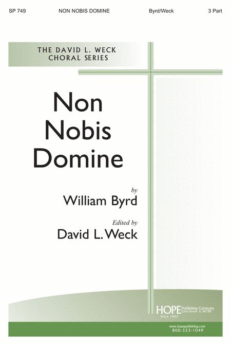 Non Nobis Domine