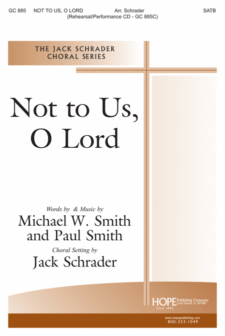 Not To Us, O Lord