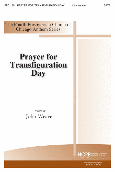Prayer For Transfiguration Day
