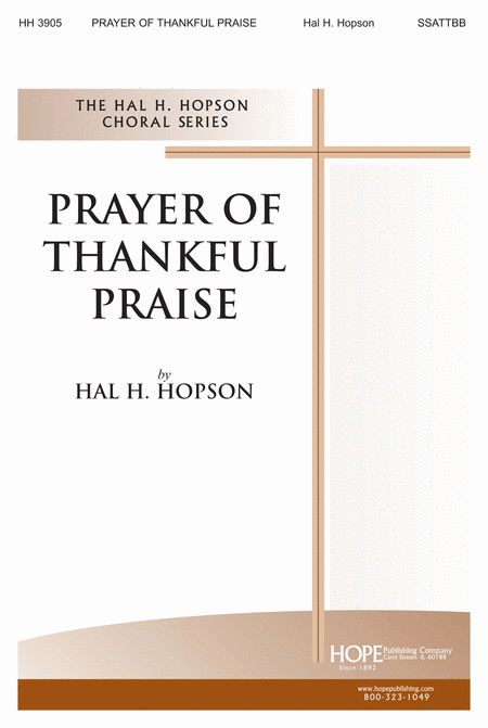 Prayer of Thankful Praise