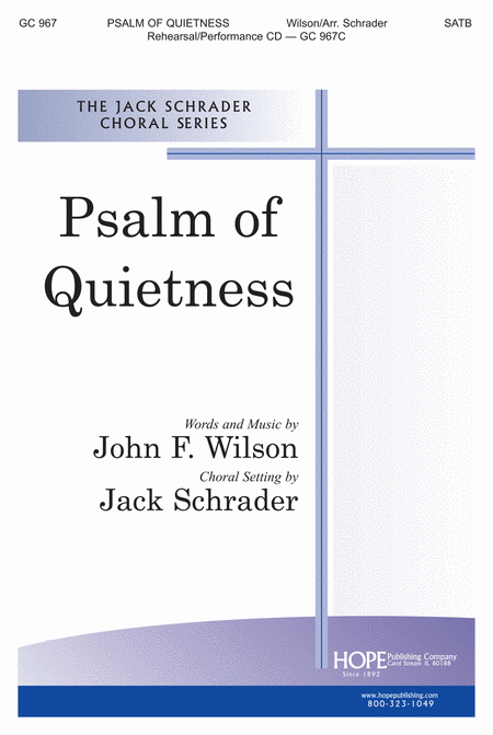 Psalm of Quietness