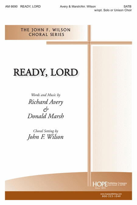 Ready, Lord