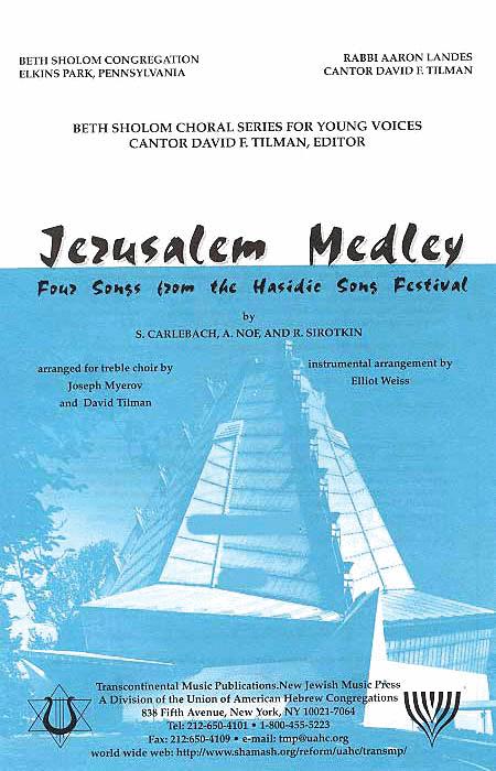 Jerusalem Medley (Vocal Score)