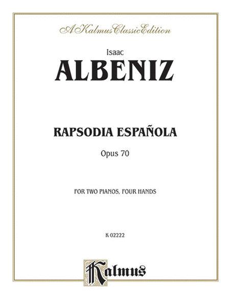 Rapsodia Espanola Op 70