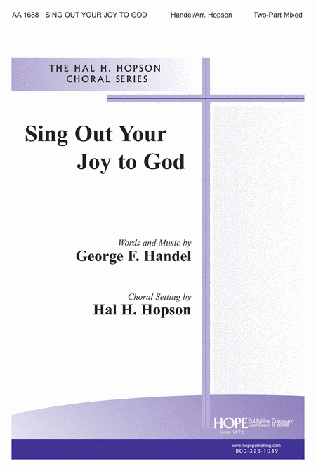 Sing Out Your Joy to God