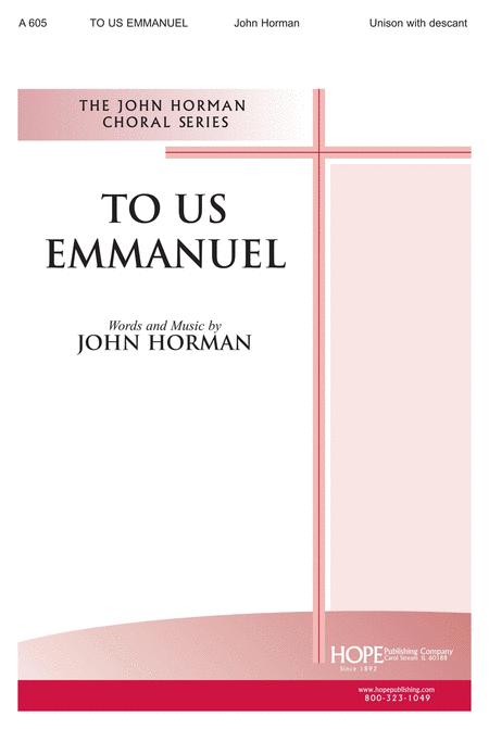 To Us Emmanuel