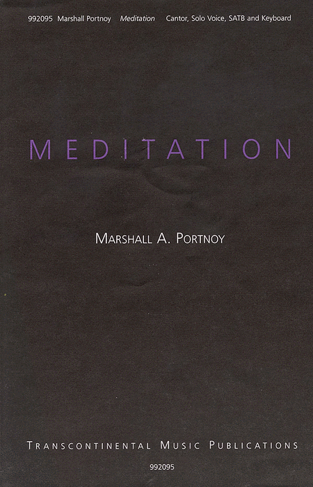 Meditation (May The Words)