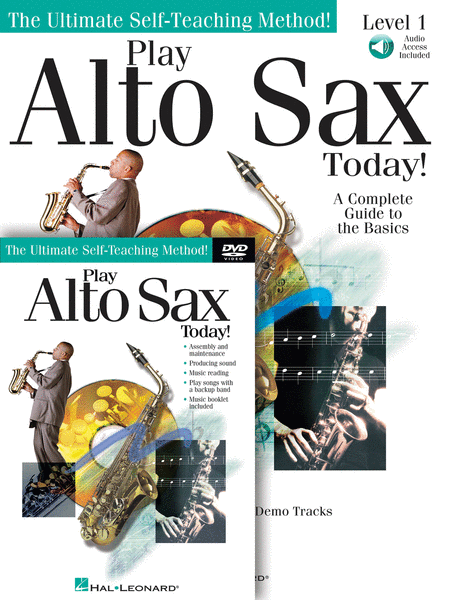 Play Alto Sax Today! Beginner's Pack