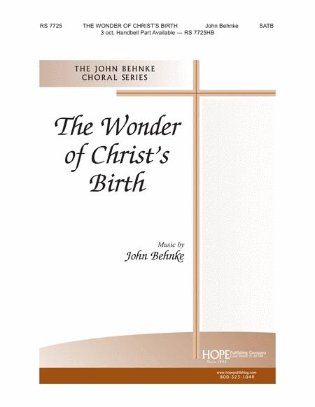 The Wonder of Christ's Birth