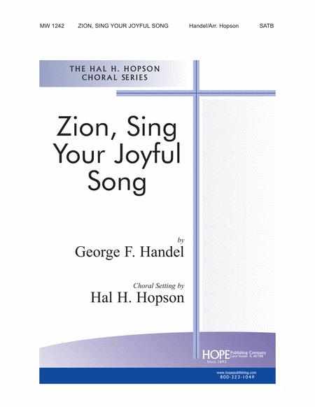 Zion, Sing Your Joyful Song