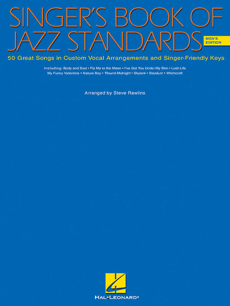 Singer's Book Of Jazz Standards - Men's Edition