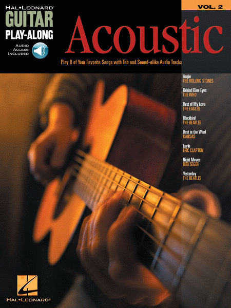 Acoustic Guitar Play-Along Vol. 2