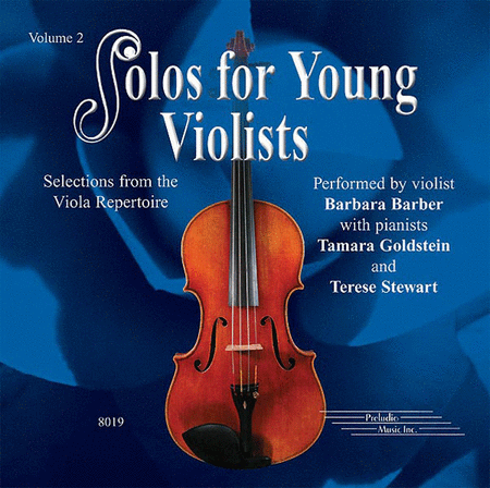 Solos for Young Violists, Volume 2