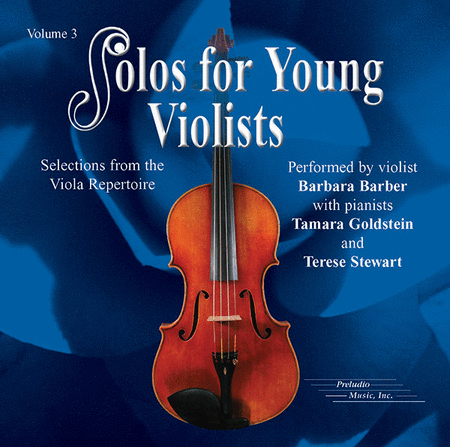 Solos for Young Violists, Volume 3