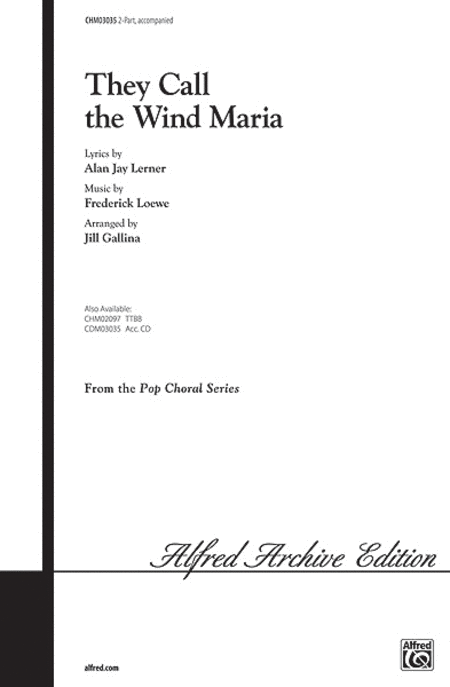 They Call the Wind Maria