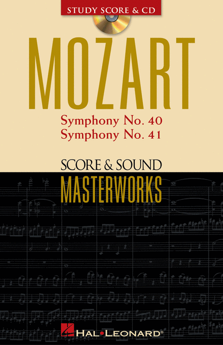 Symphony No. 40 in G Minor/Symphony No. 41 in C Major