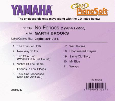 Garth Brooks - No Fences (Special Edition) - Piano Software