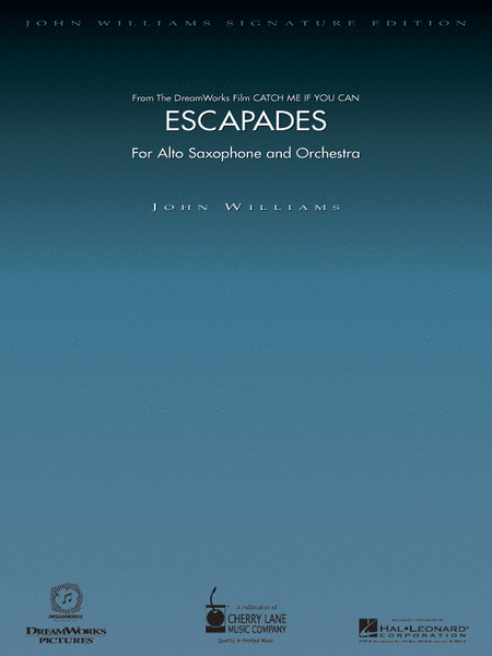 Escapades (for Alto Saxophone and Orchestra) - Deluxe Score