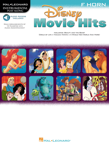 Disney Movie Hits for French Horn