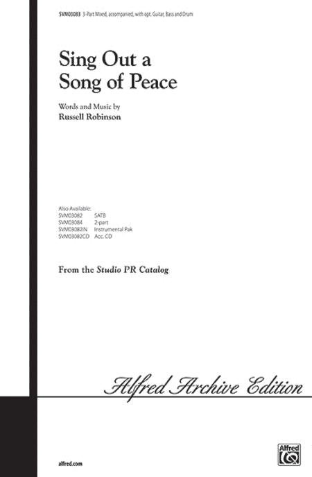 Sing Out a Song of Peace