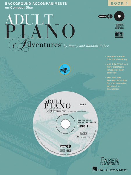 Adult Piano Adventures All-in-One Lesson Book 1 - CD only