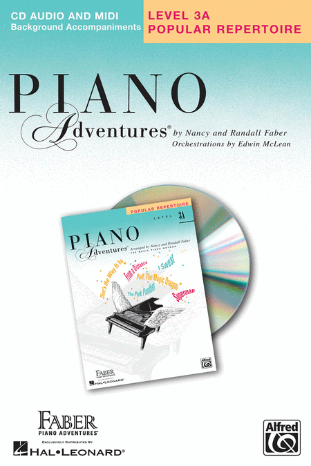 Piano Adventures Level 3A - Popular Repertoire CD