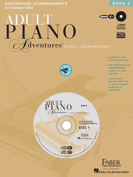 Adult Piano Adventures All-In-One Lesson Book 2 (2 CDs)