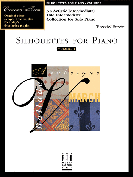 Silhouettes for Piano, Volume 1