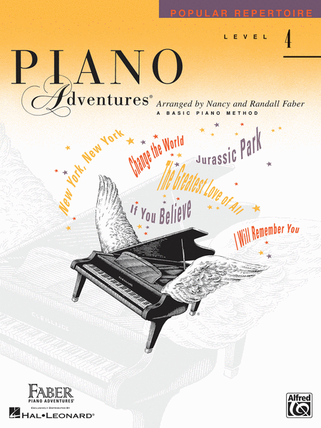 Piano Adventures Level 4 - Popular Repertoire Book