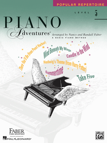 Piano Adventures Level 5 - Popular Repertoire Book