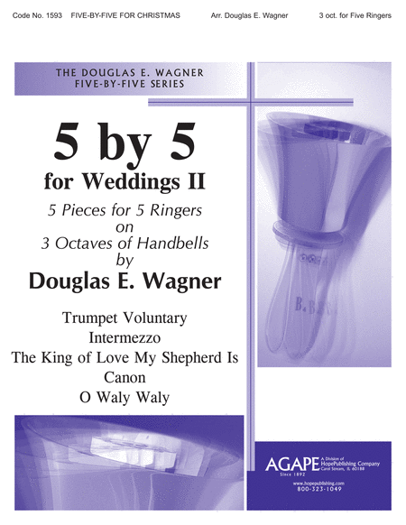 Five-By-Five for Weddings II