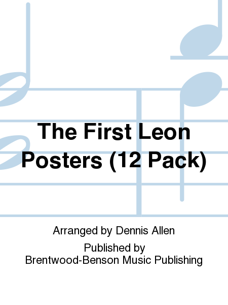 The First Leon Posters (12 Pack)